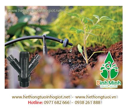 Những thiết bị trong hệ thống tưới cây